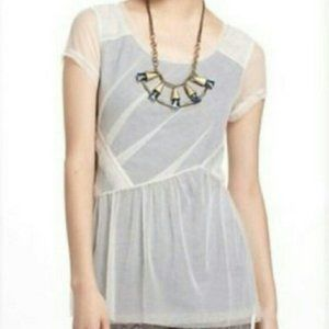 NWOT Anthro Dahlia top by Meadow Rue XS